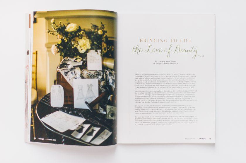 Virginia Dare Dress Co in Mingle Magazine